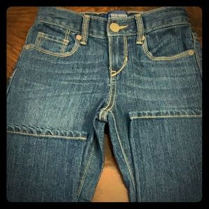 Old Navy girls boot cut jeans